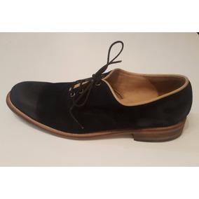 Zapatos De Cuero Plataforma De Madera