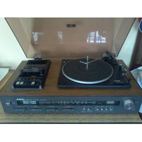 Aparelho De Som Antigo Aiko 3 Em 1 -stereo Music Center
