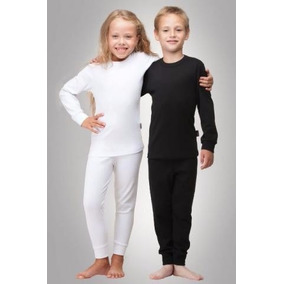 Blusa Térmica+calça Térmica Conjunto Infantil Frio Neve