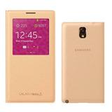 Capa Case Flip Wallet Smart S-view Samsung Galaxy Note 3