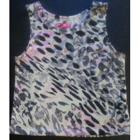Blusas Para Niñas De Animal Print.