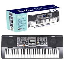 Piano Teclado Eléctrico Rol343 Esta Casi Nuevo En 120mil