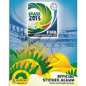 Álbum Copa Das Confederações 2013 (autografado) [completo]