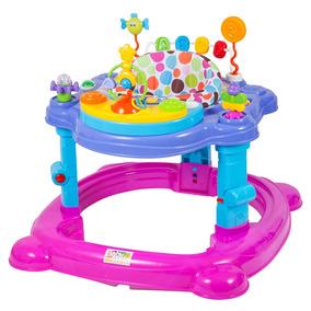 Centro De Atividades Musical C/ Assento Meninas - Baby Style