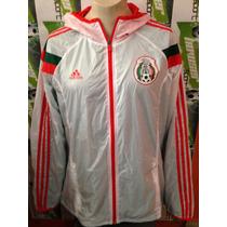 Chamarra Rompevientos Adidas Seleccion Mexicana 100%original