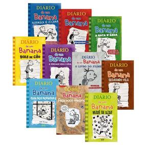 Coleção Diário De Um Banana - 10 Volumes - Lacrados
