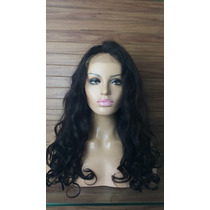 Peruca Front Lace -cabelo Humano Natural Indiano Super Sexy