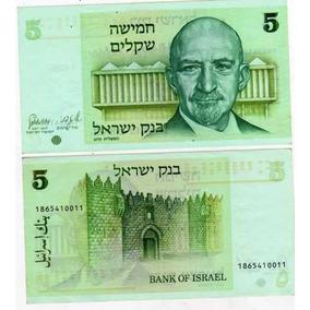 Billete De Israel De 5 Sheqalim Año 1980 Sin Circular-