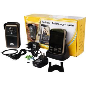 Portero Electrónico Inhalambrico Alcance 300m Accesorios Wow