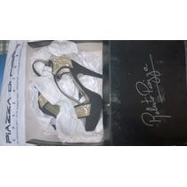 Zapatos Stilettos Línea Roberto Piazza N°35-taco 12.5cm.