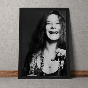 Quadro Decorativo Janis Joplin 70x50
