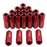 Jdmspeed Rojo Extendido Forjado Aluminio Tuner Racing