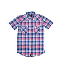 Camisa Mangas Cortas Escocesa Jonas Tres Dcj