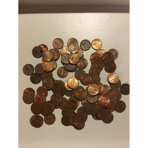 Lote De Monedas De Un Centavo Eeuu