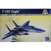 Miniatura Avião F-15 C Eagle Italeri 1/72 Kit Para Montar