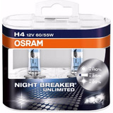Bombillo Osram H4-12v-60/55w Night Break Unlimited 110%+luz