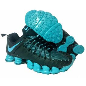 Tênis Masculino Nike Shox Cor Principal água no Mercado Livre Brasil e39b3347381ad