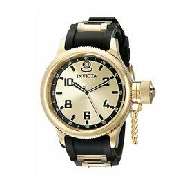 f43f9062a17 Relógio Invicta 1801 Russian Diver Banhado Ouro 18k - Relógios no ...