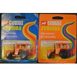 Zetor Tractor - Corgi Juniors - Nuevos En Blister Original