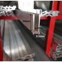 Perfil U Vidrio 6mm Aluminio ( Altura 24mm )