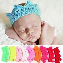 Corona Tejidas A Crochet Para Bebes, Book O Sesión De Fotos