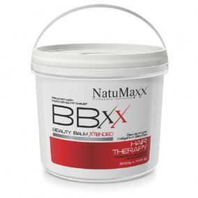 Btox Red Máscara Reconstrução Redutor Capilar 2kg Natumaxx