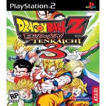 Dragon Ball Z Budokai Tenkaichi 3 Patch Ps2 Desbloqueado