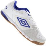 Tenis Umbro Pro 3 Falcão Futsal Branco Adulto Original + Nf