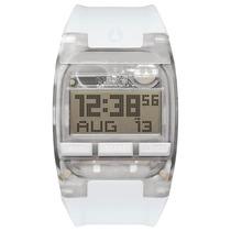 Relógio Masculino Digital Nixon - Silicone Branco - A408-126
