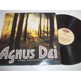 Lp Vinil - Agnus Dei - Vem, Espirito Santo - 1994