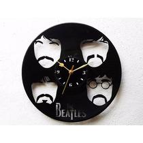 Reloj De Pared De Disco Vinilo Vinil Acetato Lp The Beatles