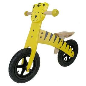 Bicicleta De Reproducción De Madera De M-wave Niño (tiger)