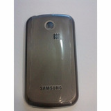 Tampa Traseira Celular Samsung Ch@t 335 Gt S3350 Preta