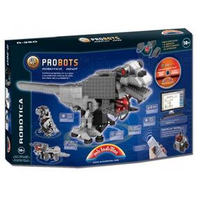 Mis Ladrillos Probots Dinosaurios Motor Sonido 360 Piezas