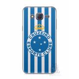 Capa Capinha Celular Samsung Galaxy J5 2015 Time Cruzeiro #2