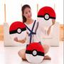 Pelúcia Travesseiro Pokebola Pokemon 35cm Frete Free