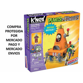 Plants Vs. Zombies Cone Mech Building Set By Knex