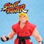 Boneco Ken Street Fighter Brinquedo Criança Brincar Capcom