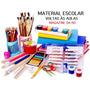 Lista Material Escolar Volta As Aulas Montamos Kits * Leia
