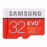 Cartão Memória Micro Sd 32gb Samsung Class10 Full Hd 80mb/s