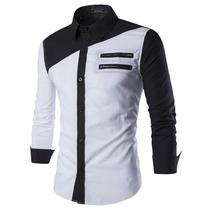 Camisa Social Slim Fit De Luxo Com Vários Modelos Twr