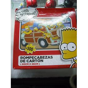 Los Simpsons Rompecabezas 100% Oficial