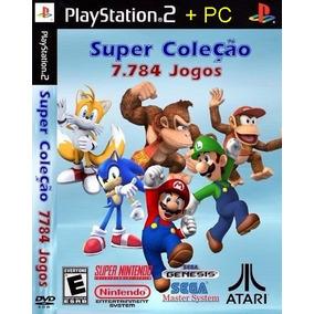 Emulador Super Nitendo 7784 Jogos Patches Ps2 E Pc Mega