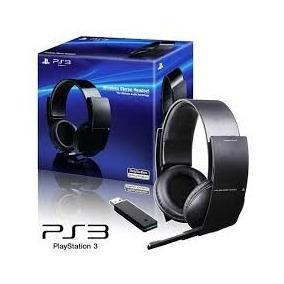 Fone Headset Wireless Stereo Sony 7.1 Pulse Sem Fio Ps3 Zero