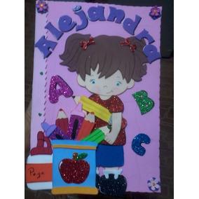 Carpetas Preescolar Escolares Foami