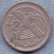Marruecos 1/2 Dirham 2002 * Telecomunicaciones *