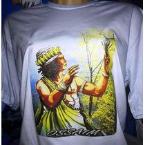 Kit 10 Camisetas Bcas_c/imagens_ Umbanda_candoblé_quimbanda