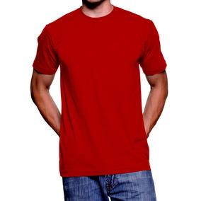Camiseta Lisa Masculina Hering Manga Curta Gola Careca Basic