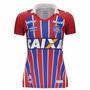 Camisa Feminina Bahia Umbro Oficial 2 3h00022 Original + Nf