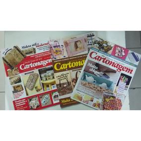 Revistas Cartonagem Kit Com 3 Exemplares